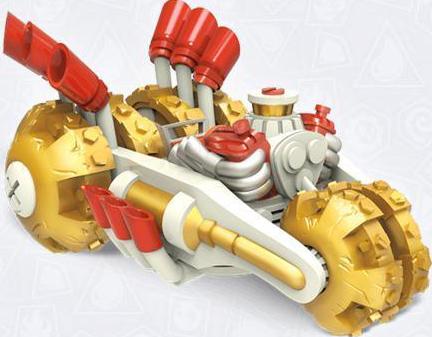 Gold Rusher - Vehicle