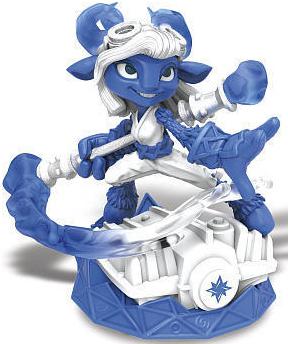 Power Blue Splat - Driver