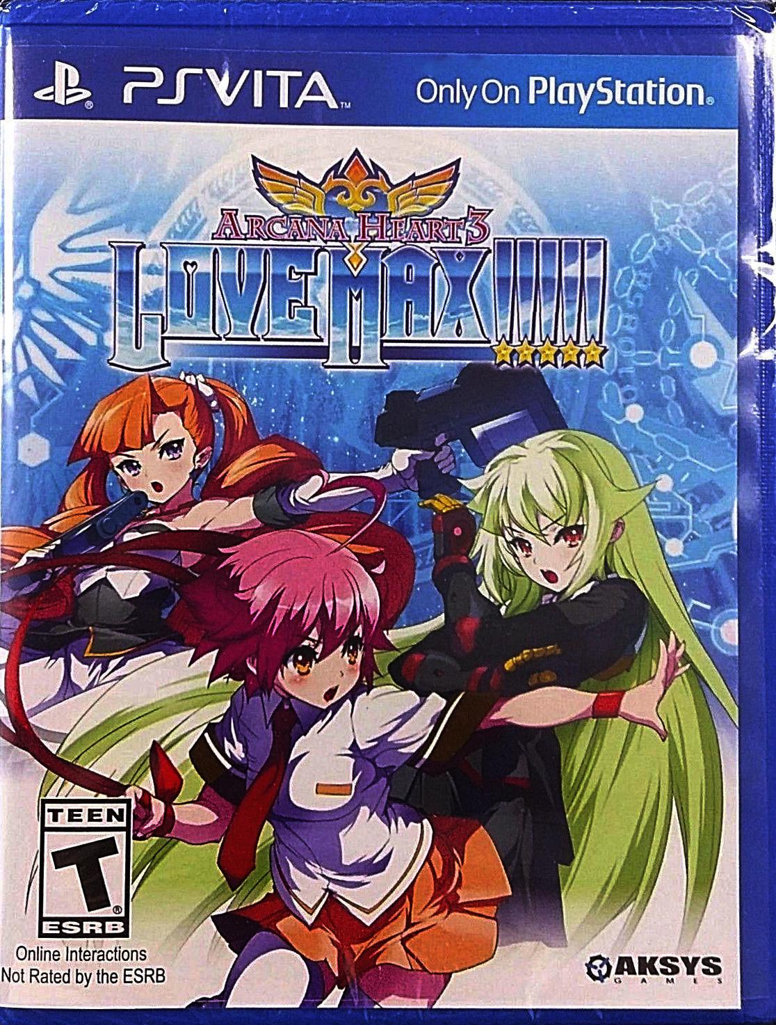 Arcana Hearts 3: LOVE MAX!!!!!