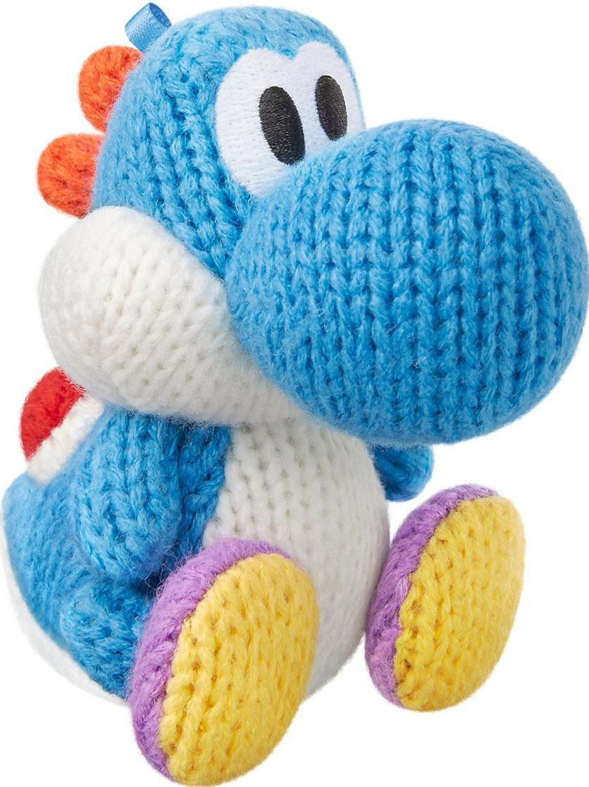 Amiibo - Light Blue Yarn Yoshi