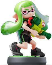 Amiibo - Green Inkling Girl