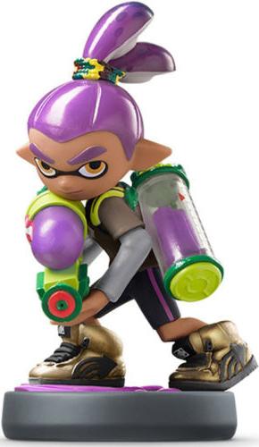 Amiibo - Purple Inkling Boy
