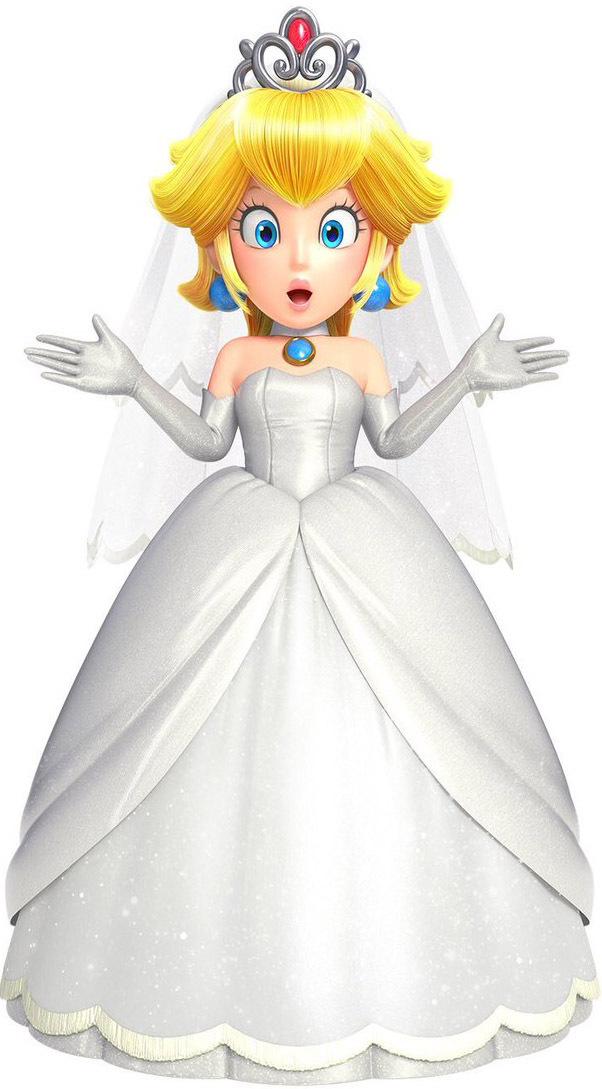 Amiibo - Peach Wedding Outfit