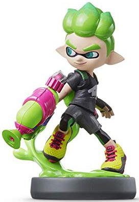 Amiibo - Green Inkling Boy
