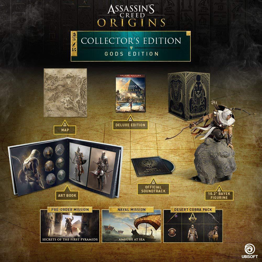 Assassins Creed Origins Gods