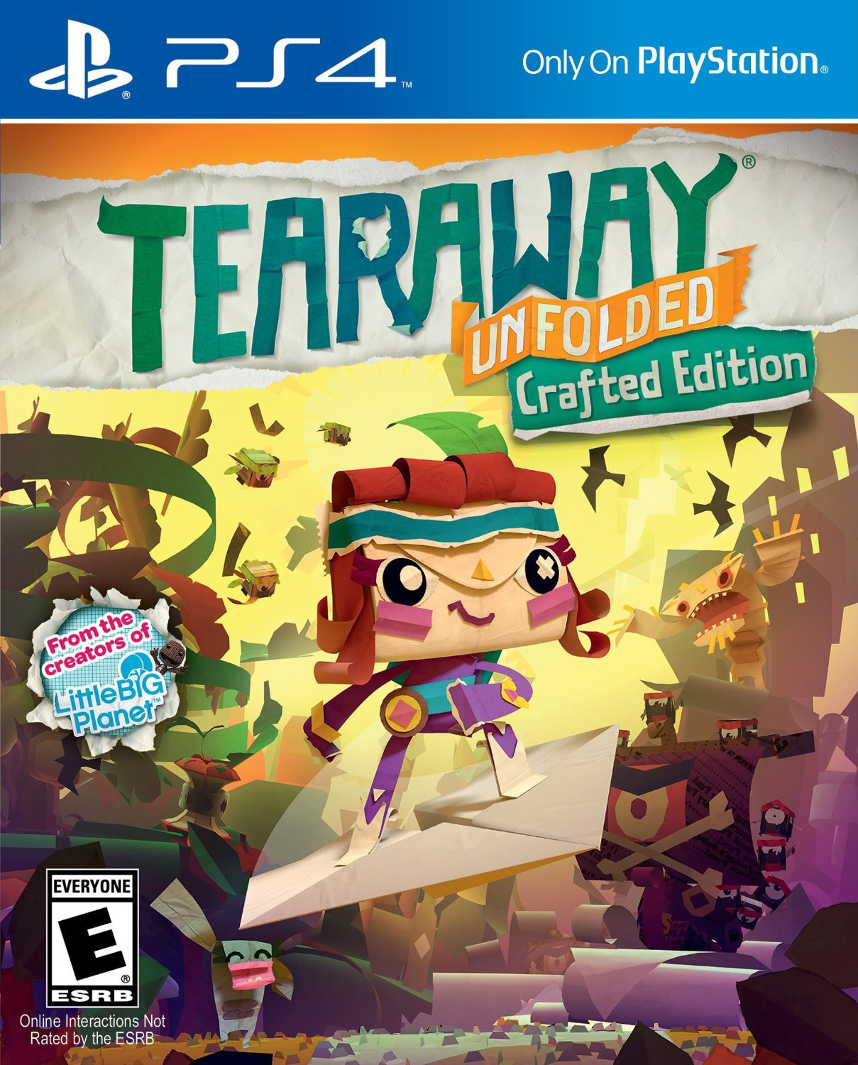 Tearaway Unfolded Crafted