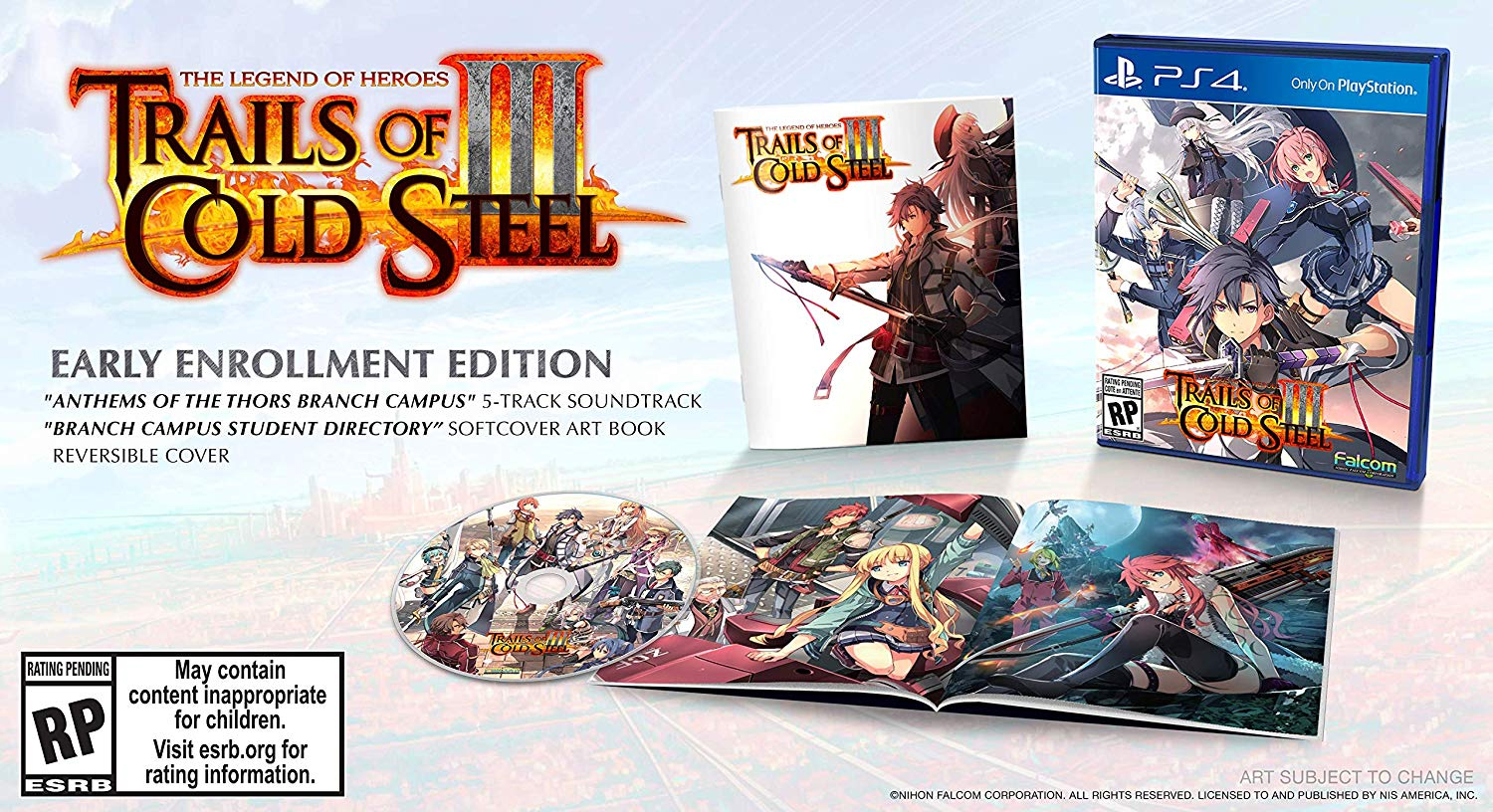 Trails of Cold Steel III 3