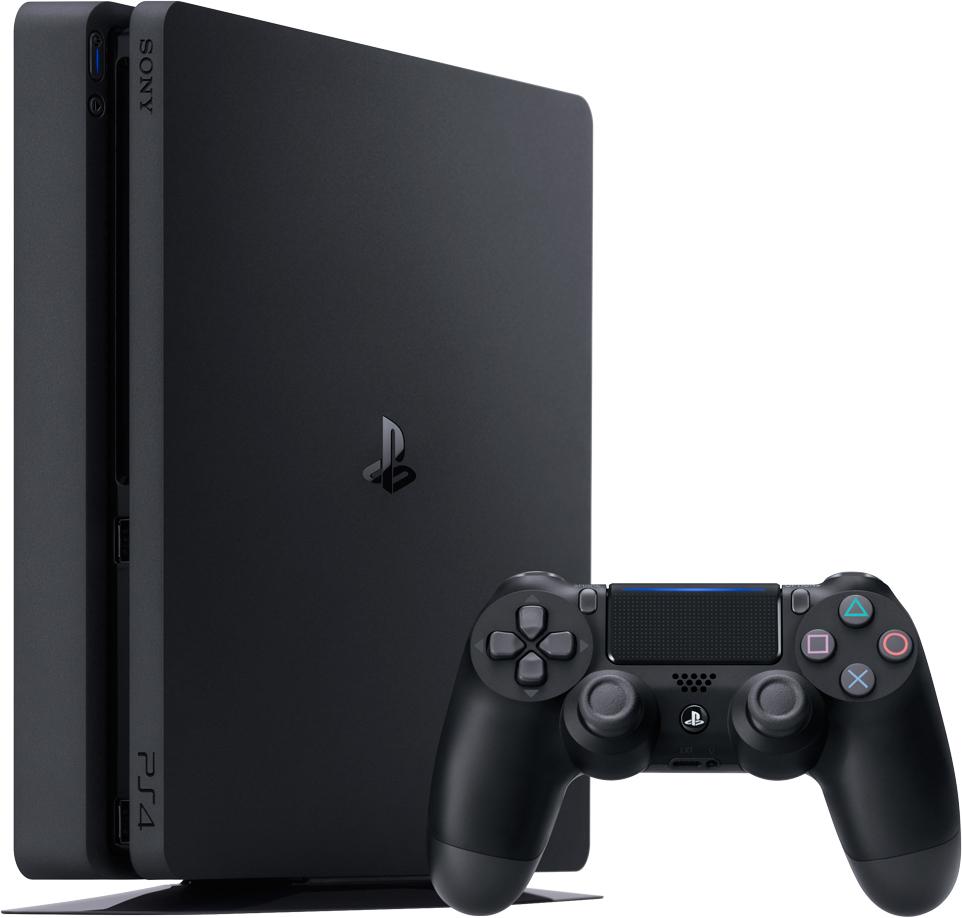 1TB Slim PS4 Console Bundle
