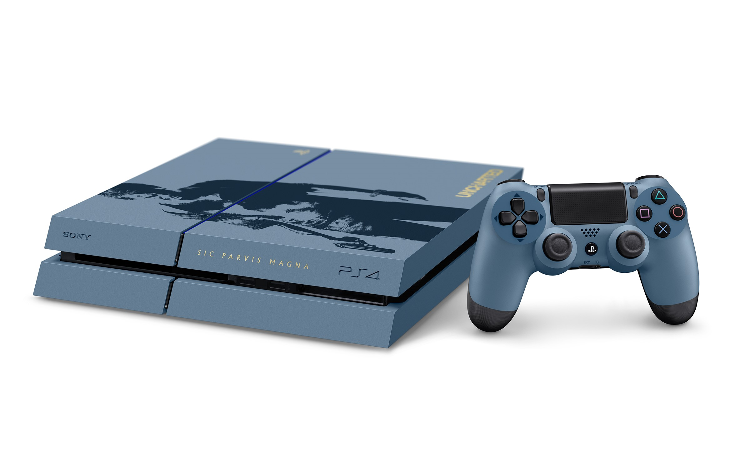 Uncharted 4 PS4 Console Bundle