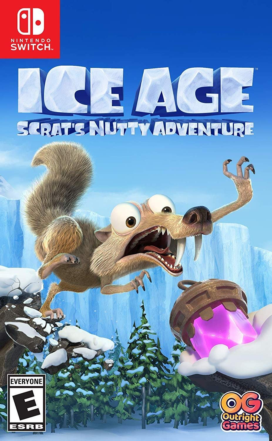Ice Age Scrats Nutty Adventure