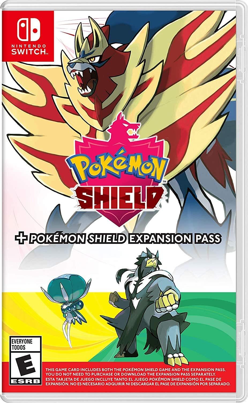 Pokemon Shield+Expansion Pass